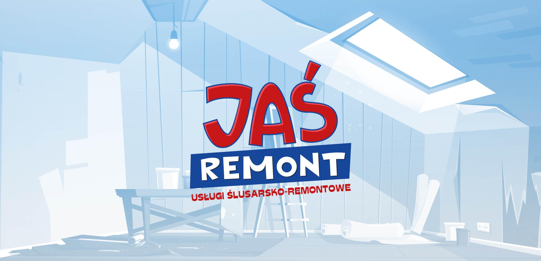 Jeś Remont Logo Projekt Sto15 Studio Projektant Piotr Ratuski